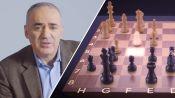 Chess Grandmaster Garry Kasparov Replays His Four Most Memorable Games