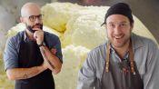 Brad and Babish Make Ricotta Cheese