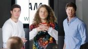Adam Devine, Blake Anderson & Anders Holm Improvise a PowerPoint Presentation