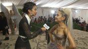 Ariana Grande on Her Sistine Chapel Ceiling Dress