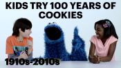 Kids Try 100 Years of Cookies with Cookie Monster