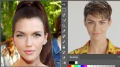 Ruby Rose Photoshops Herself Into 7 Different Looks