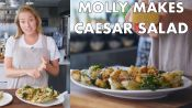 Molly Makes Classic Caesar Salad