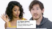 Liza Koshy, Markiplier, Rhett & Link, and Hannah Hart Answer YouTube Creator Questions From Twitter