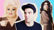 Eureka O'Hara Gives Zachary Quinto a Drag Makeover