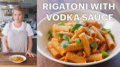 Molly Makes Rigatoni with Vodka Sauce
