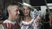 Jeremy Scott Explains His Clever New Moschino Collection, With a Little Help from Bella Hadid and Joan Smalls