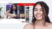 Alessia Cara Watches Her First YouTube Covers