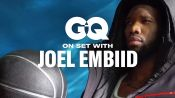Behind the Scenes of Joel Embiid's GQ Cover Shoot