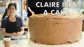 How to Ice the Perfect Cake