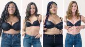 Women Sizes 32A Through 42D Try On the Same Bra (Fenty)