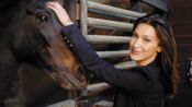 Bella Hadid Visits a Stable and Opens Up About Modeling and Horse Riding