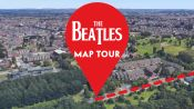 Every Place in Beatles Lyrics, Mapped