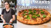 Claire Makes Cast-Iron Skillet Pizza