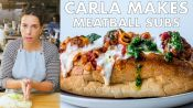 Carla Makes Meatball Subs