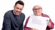 Colin Farrell & Danny DeVito Answer the Web's Most Searched Questions