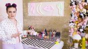 Molly Burke's Colorful Bathroom Tour