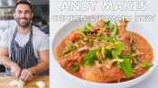 Andy Makes Chicken and Tomato Stew