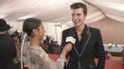 Shawn Mendes on His Gold-Streaked Hair for the Met Gala