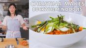 Christina Makes Buckwheat Noodles