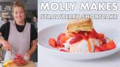 Molly Makes Strawberry Shortcake
