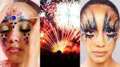 3 Makeup Artists Turn a Model Into a Living Firework