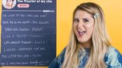 Meghan Trainor Creates the Playlist of Her Life