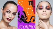 3 Makeup Artists Turn a Model Into The Scorpio Zodiac Sign