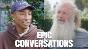 Pharrell and Rick Rubin Have an Epic Conversation