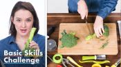 50 People Try To Cut Broccoli into Florets