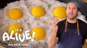 Brad Makes Cured Egg Yolks