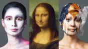 3 Makeup Artists Turn a Model Into The Mona Lisa