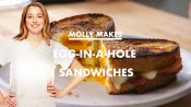Molly Makes Egg-in-a-Hole Sandwich with Bacon and Cheddar