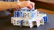 How to Stack Playing Cards