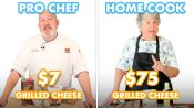 $75 vs $7 Grilled Cheese: Pro Chef & Home Cook Swap Ingredients