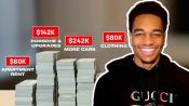 How PJ Washington Spent His First $1M in the NBA