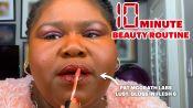 Gabourey Sidibe's 10 Minute Beauty Routine