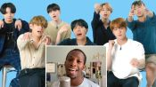 BTS Watches Fan Covers On YouTube
