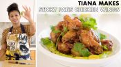 Tiana Makes Sticky Patis Chicken Wings