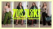 Supermodel and New Mom Ashley Graham Shows Us What She Wears in a Week
