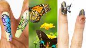 3 Nail Artists Transform Their Nails Into Butterflies