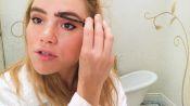 Suki Waterhouse's Easy Cat Eye | Beauty Secrets