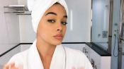 Watch Model Jasmine Sanders's Golden Barbie Beauty Tutorial