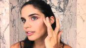 Watch Victoria's Secret Model Sara Sampaio's Easy Bombshell Makeup Look
