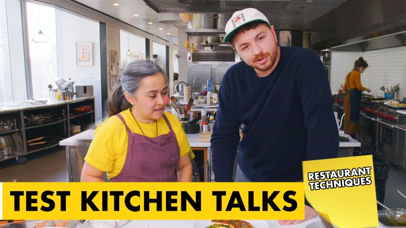 Watch Test Kitchen Talks | Pro Chefs Share Their Top Restaurant Kitchen Tips | Bon Appétit Video | CNE | Bonappetit.com