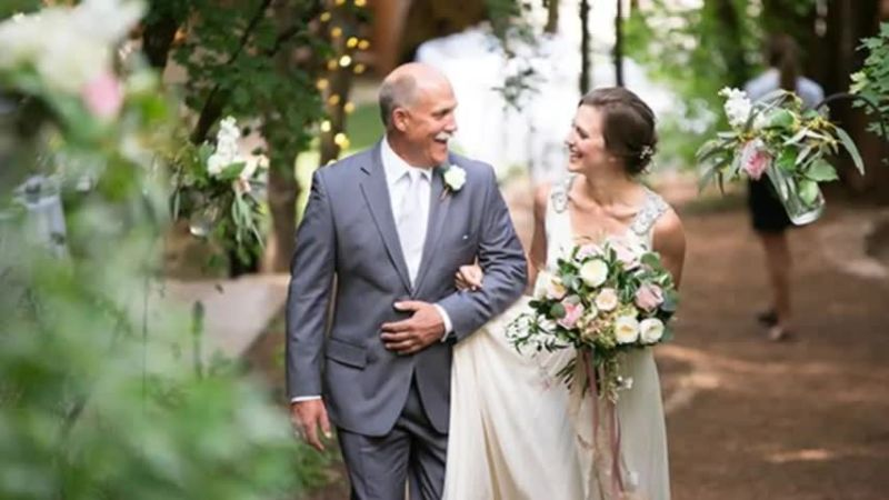 Watch happy fathers day our favorite father daughter moments our favorite father daughter moments from real weddings brides video cne junglespirit Images