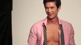 Behind the Scenes with Harry Shum - GQ
