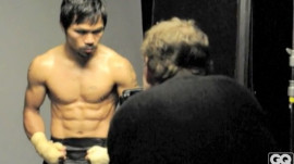 GQ Goes Behind the Scenes with Manny Pacquiao: The Biggest Little Man in the World
