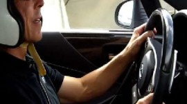 GQ Rides Along For a Lap in the Lexus LFA Supercar