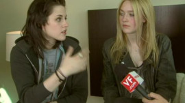 "Kristen Stewart and Dakota Fanning on ""The Runaways"""